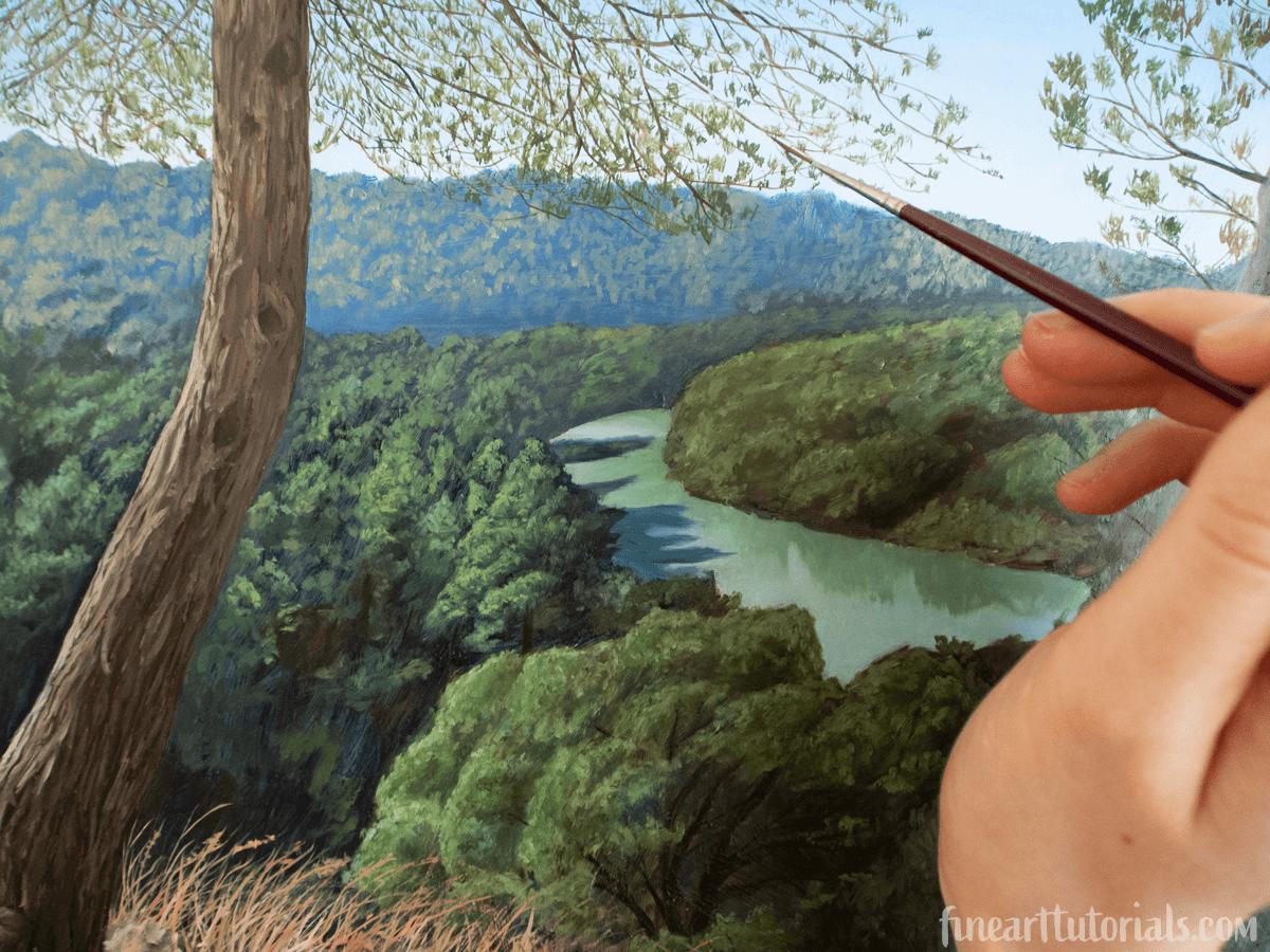 The Best Paint Brush for Fine Details