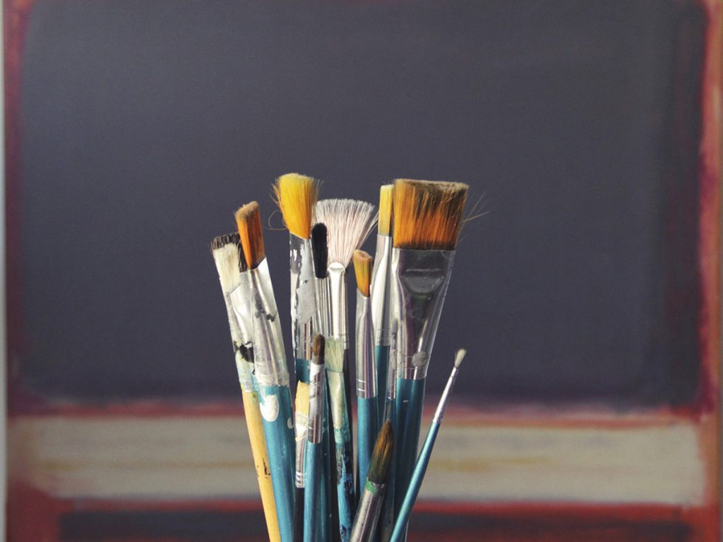 How To Take Care Of Your Oil Painting Brushes Fine Art