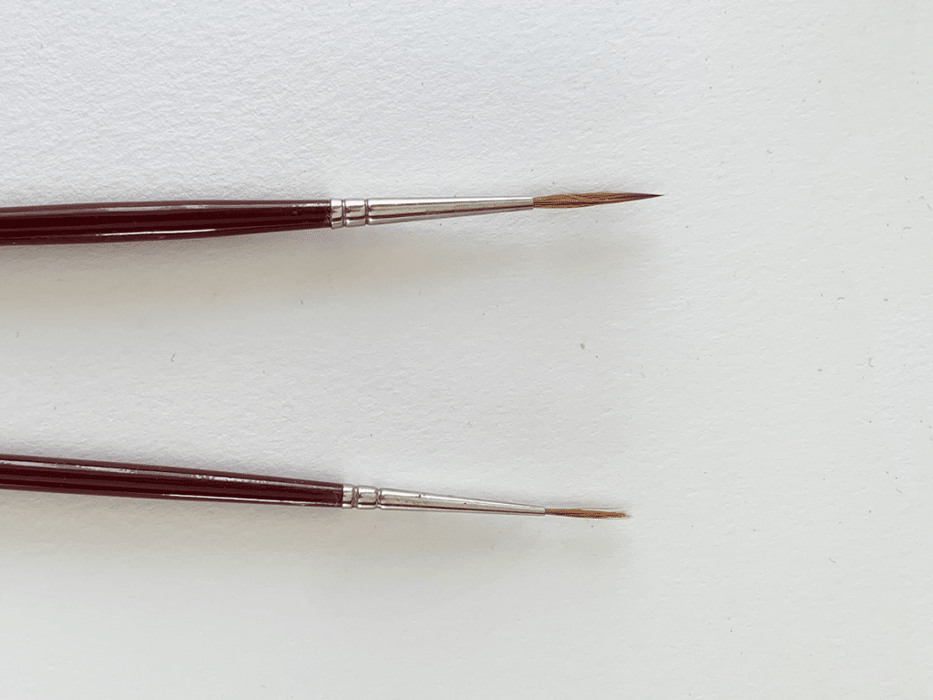 best brushes for oil painting: sable