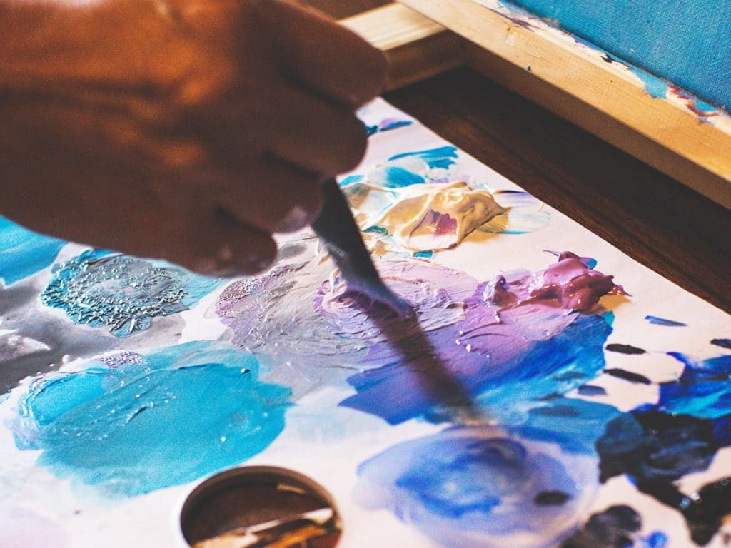 Best palettes for acrylic painting
