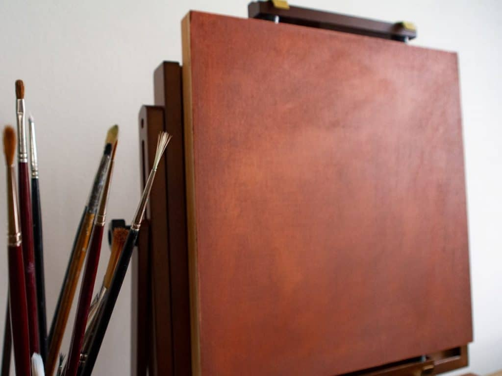 How to tone a canvas