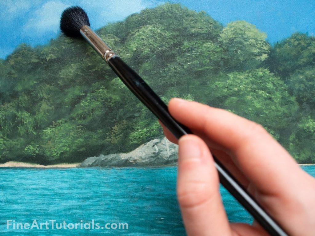 Oil painting techniques