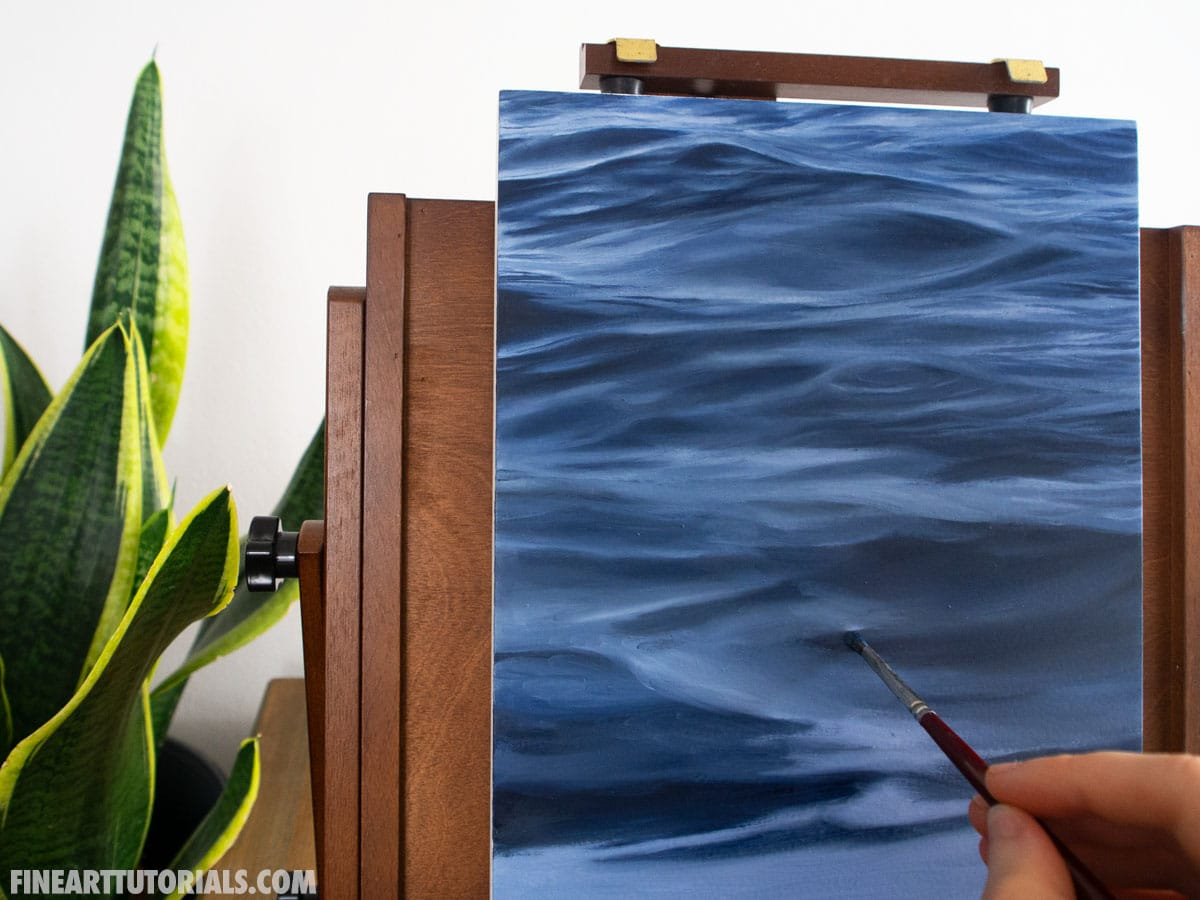 Direct and Indirect Painting Techniques: Two Approaches