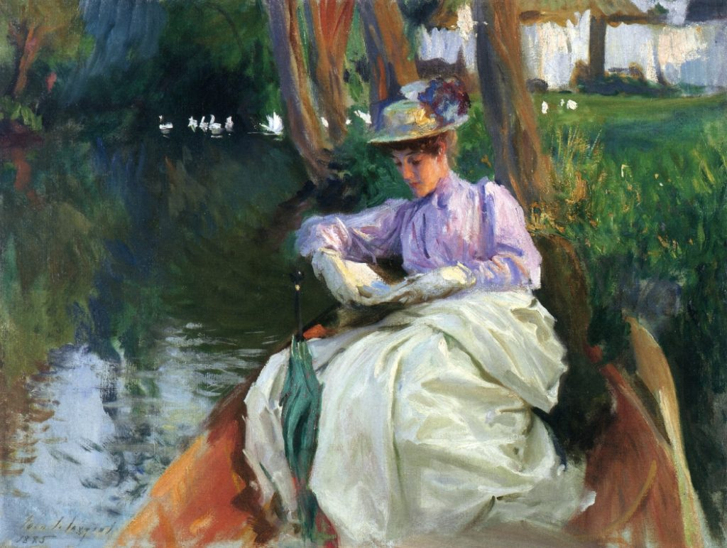 John Singer Sargent: By the River