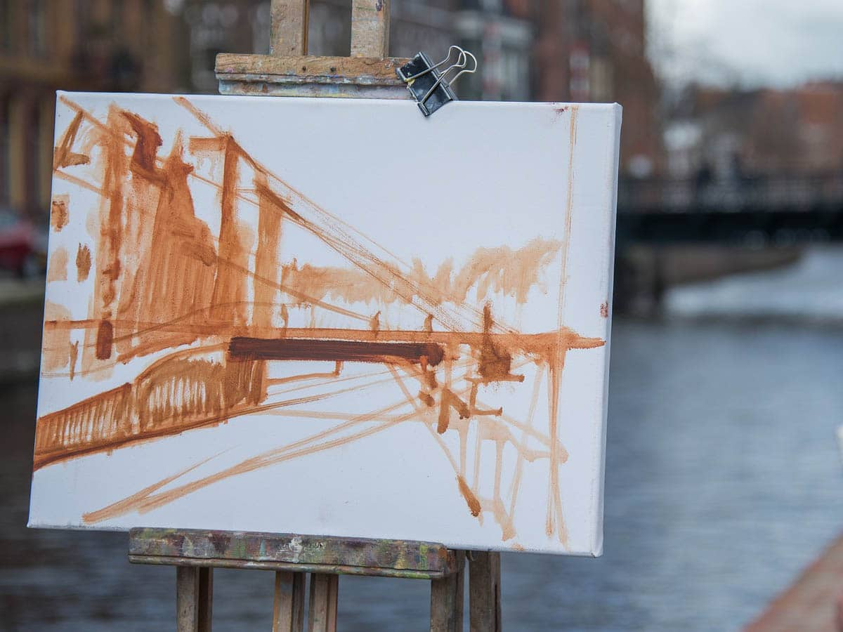 How to Create an Underpainting in Oil