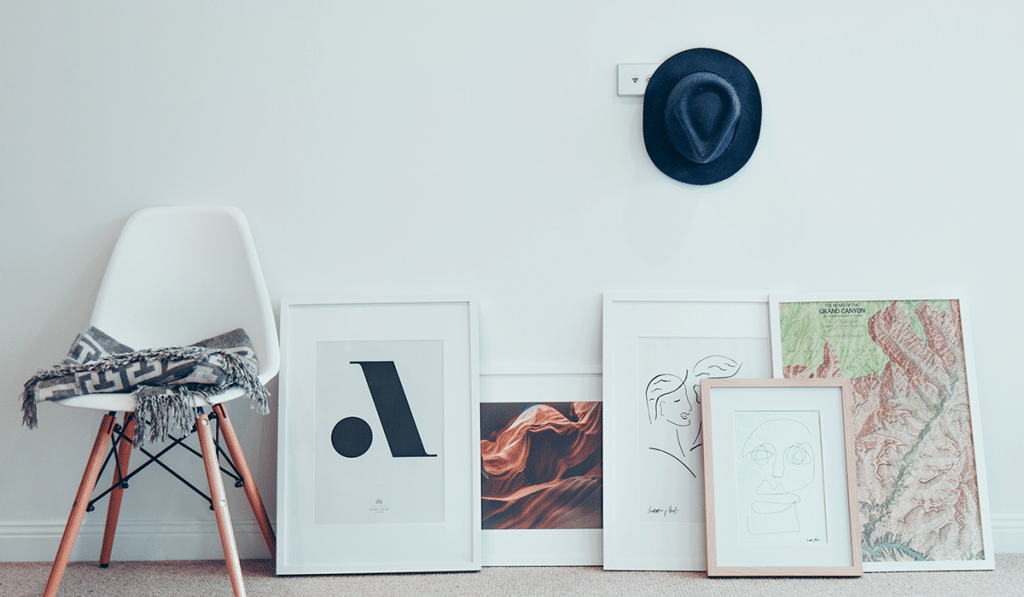 gifts for artists: wall art