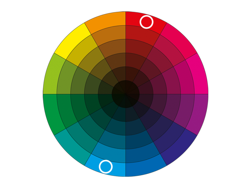 complementary colour schemes