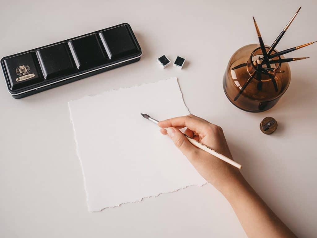 watercolour supplies: best watercolour paper