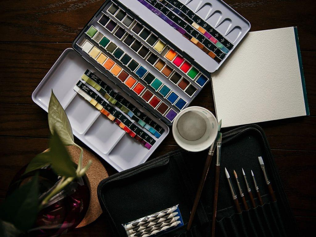 watercolour supplies