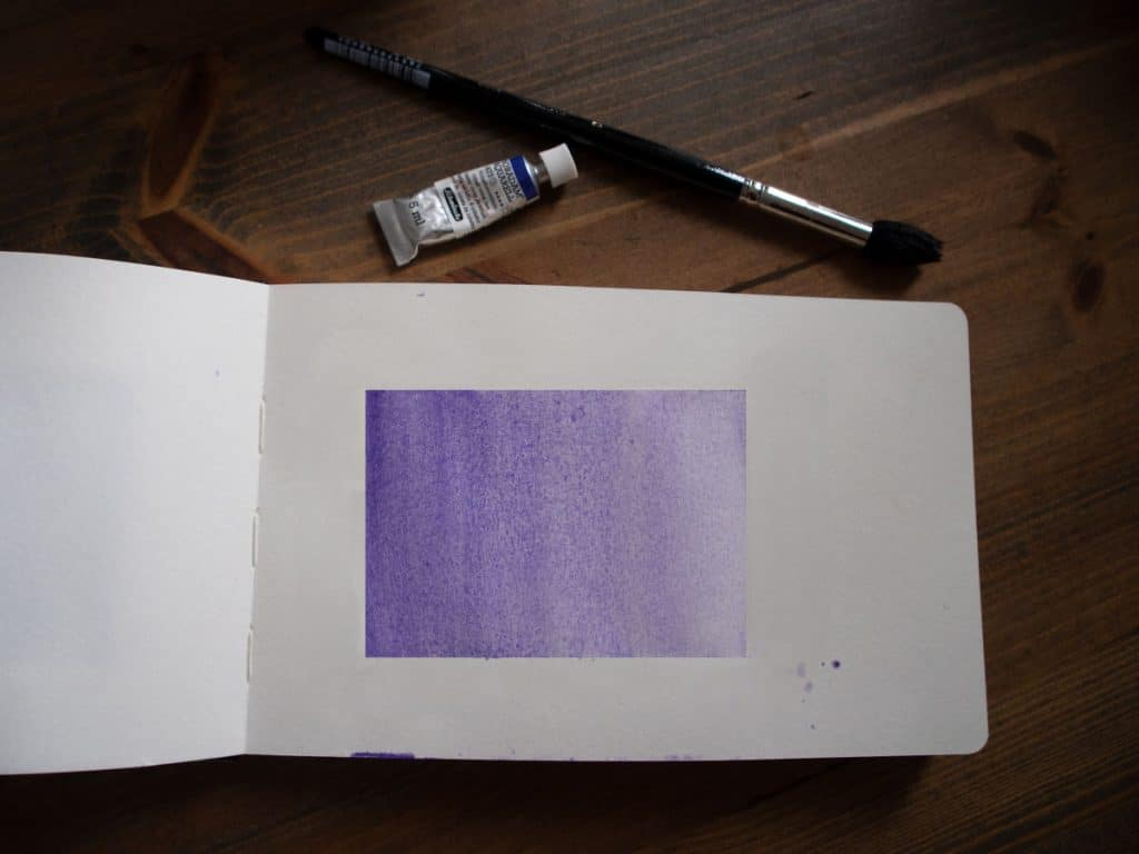 graded wash watercolour techniques