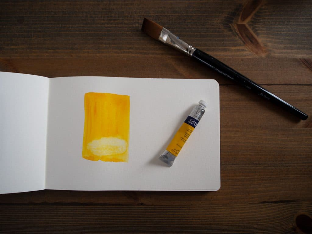 lifting technique watercolour painting for beginners