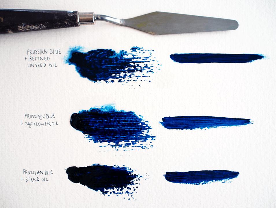 oil paint mediums: oils