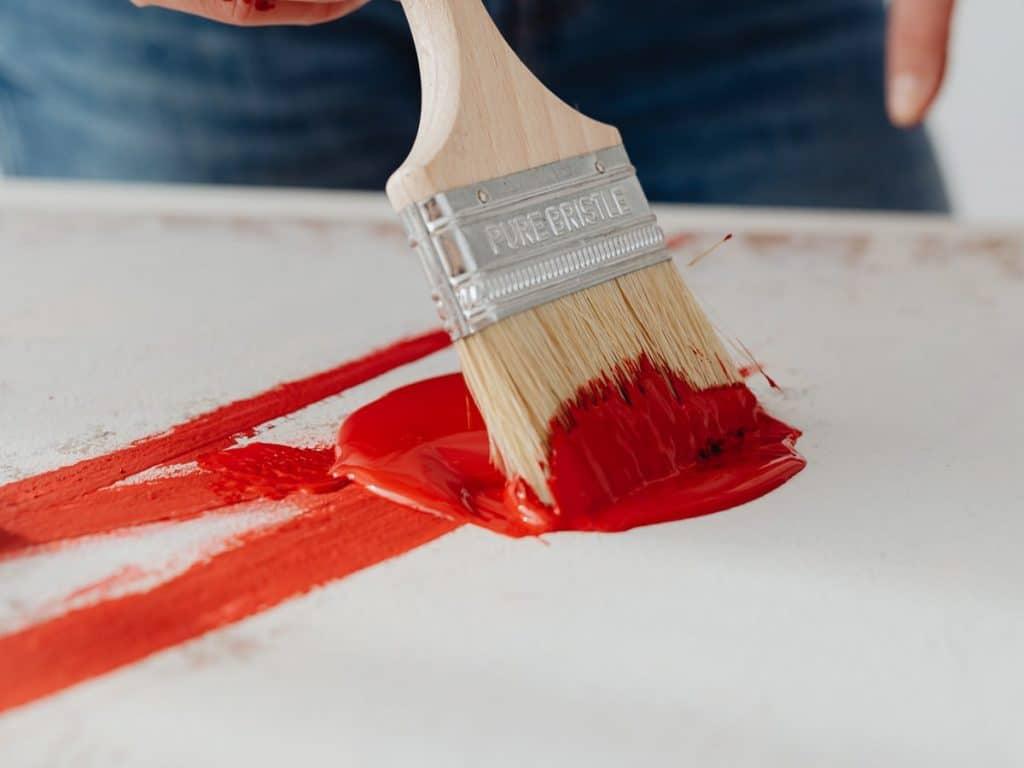 Best brushes for acrylic painting: Hog Bristle