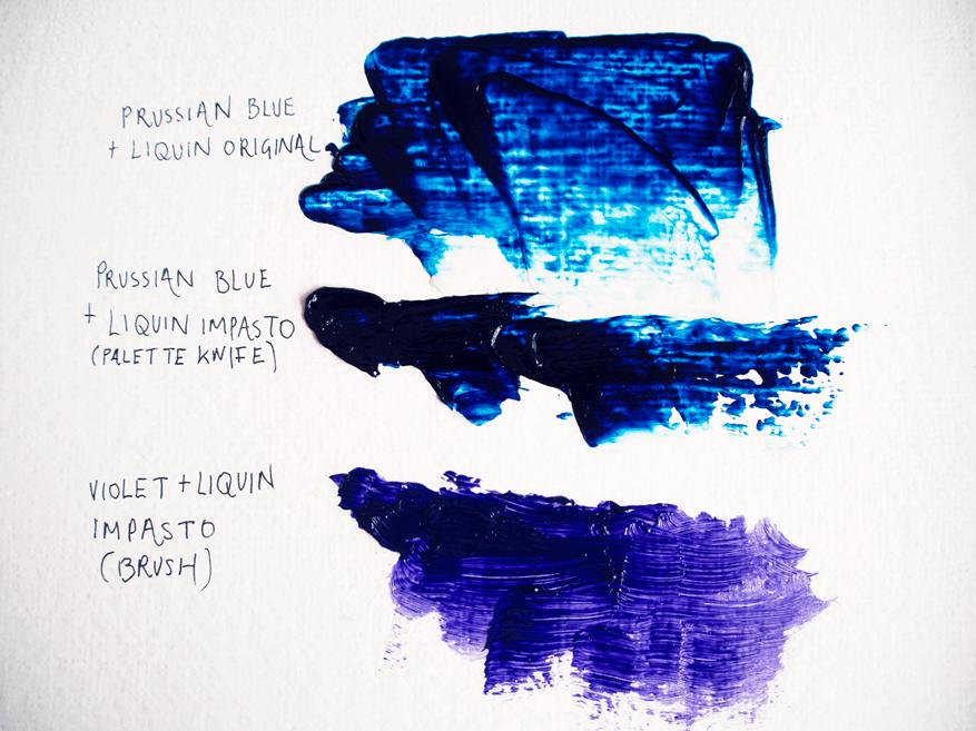 oil paint mediums: alkyd resin