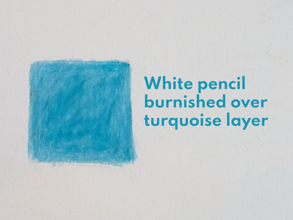 how to blend coloured pencils