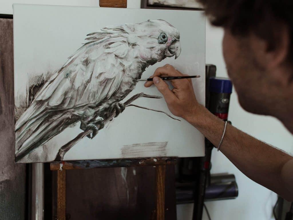 easy oil painting ideas