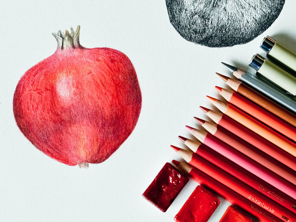 How to use watercolour pencils