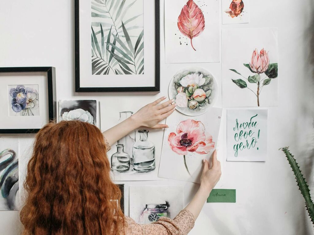 develop your art style: mood board