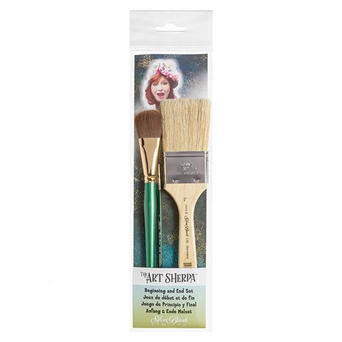 Varnishing brush
